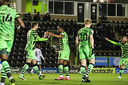 Forest Green Rovers v Colchester United 270221