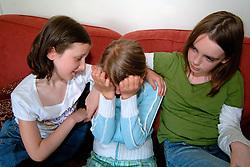friends support upset friend