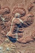 Little Painted Desert, Holbrook/Winslow, Arizona, aerial photo