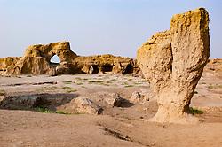 Gaochang ruined city in Turpan, Xinjiang, China
