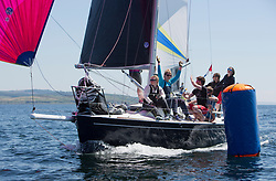 Sailing - SCOTLAND  - 28th May 2018<br /> <br /> Final days racing the Scottish Series 2018, organised by the  Clyde Cruising Club, with racing on Loch Fyne from 25th-28th May 2018<br /> <br /> GBR8272T, Satisfaction, Nicholas Marshall, St Mary's Loch SC, J 92<br /> <br /> Credit : Marc Turner<br /> <br /> Event is supported by Helly Hansen, Luddon, Silvers Marine, Tunnocks, Hempel and Argyll & Bute Council along with Bowmore, The Botanist and The Botanist