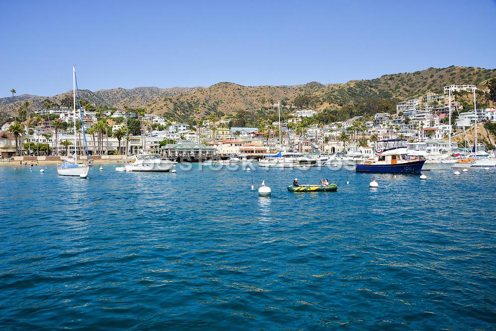 Downtown Avalon Harbor Catalina Island