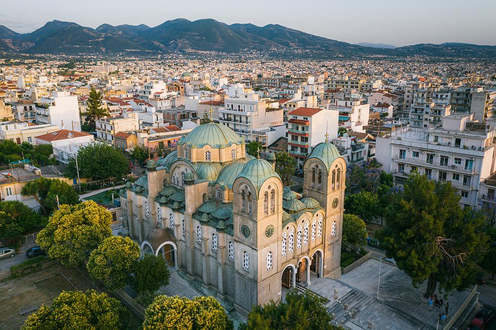 Pantokrator Church at Patras, Greece