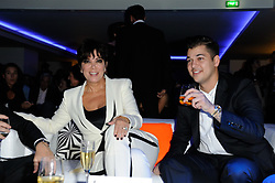Kris Jenner and Rob Kardashian attending the E! Entertainment TV channel party in Paris, France on September 19, 2012. Photo by Alban Wyters/ABACAPRESS.COM  | 335444_028 Paris F France