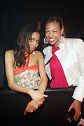 l to r: Tecorra and DJ Eque at The Black Star Concert presented by BlackSmith and Live N Direct held at The Nokia Theater in New York City on May 30, 2009