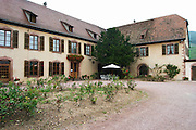 the winery domaine faller weinbach kaysersberg alsace france
