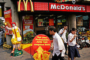 McDonald's fast food chain restaurant in Manila, Philippines. (Supporting image from the project Hungry Planet: What the World Eats.)