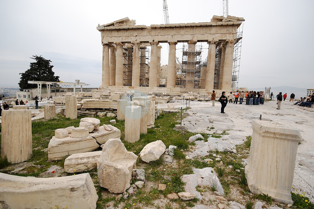 Acropolis Atenas. Grecia. Europa