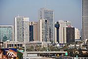Israel, Tel Aviv, sky line Modern High rise building