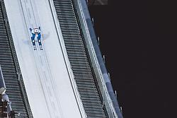 27.02.2021, Oberstdorf, GER, FIS Weltmeisterschaften Ski Nordisch, Oberstdorf 2021, Herren, Skisprung, HS106, Einzelbewerb, im Bild Marius Lindvik (NOR) // Marius Lindvik of Norway during men ski Jumping HS106 Single Competition of FIS Nordic Ski World Championships 2021. in Oberstdorf, Germany on 2021/02/27. EXPA Pictures © 2021, PhotoCredit: EXPA/ JFK