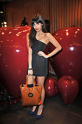 JAMEELA JAMIL at a party to celebrate the launch of the new Mulberry leather case for Apple's iPhone held at the Mulberry store, Bond Street, London on 5th November 2009.