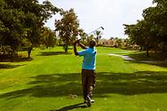 08-10-2015 -  Foto van De caddies golfen ook bij Golf du Soleil in Agadir, Marokko. De 36 holes van Golf du Soleil werden ontworpen door Fernando Muela en Gerard Courbin.