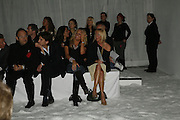 Sarah Bosnich and Faye tozer,  DENIS SIMACHEV SHOWCASES AUTUMN/WINTER 06 MENSWEAR & WOMENSWEAR COLLECTIONS<br />