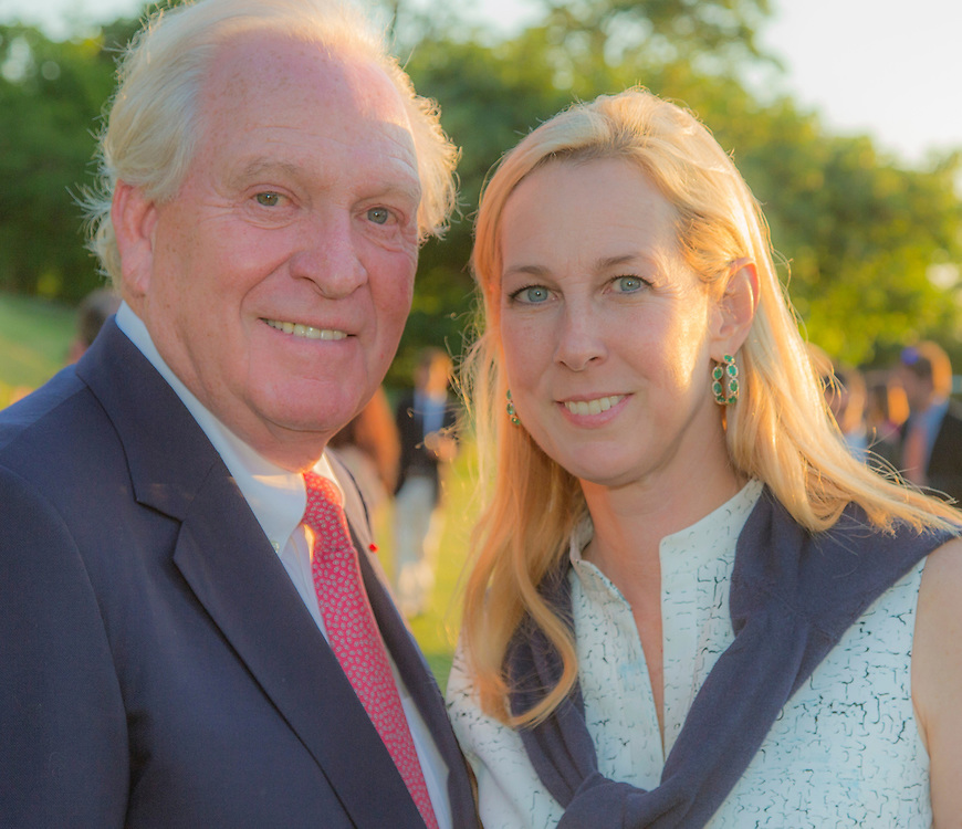 George and Wendy David <br /> RAMBLER, George David, Owner/Skipper:  Sail Number: USA 25555, , Class: IRC 1, Yacht Type: JYD 88, Homeport: Farmington, CT, USA<br /> <br /> 2015 NYYC Transatlantic Race