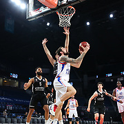 Anadolu Efes's and Besiktas Icrypex's during their Turkish Basketball ING Super League match Anadolu Efes between Besiktas Icrypex at the Sinan Erdem Dome on February 07, 2021 in Istanbul, Turkey. Photo by Aykut AKICI/TURKPIX