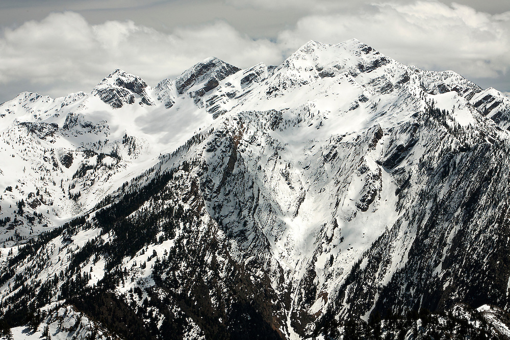 The view from the top of Mt Olympus.