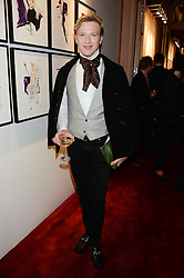 HENRY CONWAY at a private view of fashion art by David Downton as in-house artist at Caridge's , held at Claridge's Hotel, London on 13th September 2013.