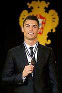 012014 Cristiano Ronaldo receives the medal of Grande-Official Da Ordem do Infante D. Henrique