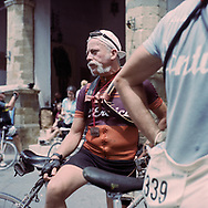The only price at the end of the journay is a small medal. On May 27, 2018 the second edition od the Eroica went of, the Eroica is a bicycle race where only bikes berore 1985 can partecipate. Cyclists must wear vintage cloths and the road are often on gravel. It's a non competitive race, but fatigue and sweat are real. Federico Scoppa