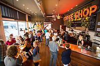 Street 14 Coffee, Astoria, Oregon.