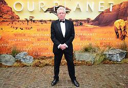 Keith Scholey attending the global premiere of Netflix's Our Planet, held at the Natural History Museum, London.