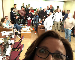 """Julia Louis-Dreyfus releases a photo on Instagram with the following caption: """"Rehearsal. We are focused. Not like the photo. @veephbo #veep #finalepisode"""". Photo Credit: Instagram *** No USA Distribution *** For Editorial Use Only *** Not to be Published in Books or Photo Books ***  Please note: Fees charged by the agency are for the agency's services only, and do not, nor are they intended to, convey to the user any ownership of Copyright or License in the material. The agency does not claim any ownership including but not limited to Copyright or License in the attached material. By publishing this material you expressly agree to indemnify and to hold the agency and its directors, shareholders and employees harmless from any loss, claims, damages, demands, expenses (including legal fees), or any causes of action or allegation against the agency arising out of or connected in any way with publication of the material."""