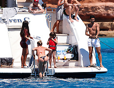 Ibiza: Leo Messi, Luis Suarez and Cesc Fabregas - 12 June 2017