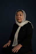 Nadira, a member of the Hazara ethnic group from Afghanistan, now living in Canada, is photographed  in Toronto  on Saturday February 29, 2020.