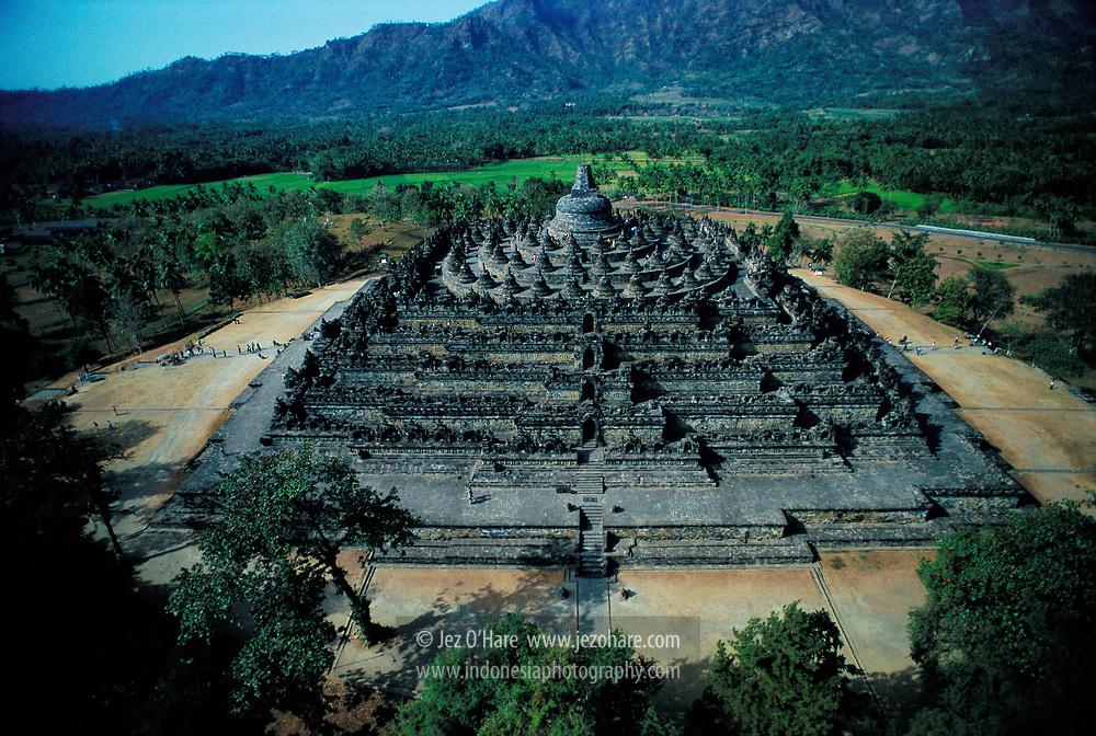 Borobudur Temple, Magelang, Central Java, Indonesia.