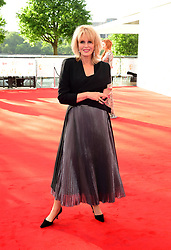 Joanna Lumley arriving for the Virgin TV British Academy Television Awards 2017 held at Festival Hall at Southbank Centre, London. PRESS ASSOCIATION Photo. Picture date: Sunday May 14, 2017. See PA story SHOWBIZ Bafta. Photo credit should read: Ian West/PA Wire