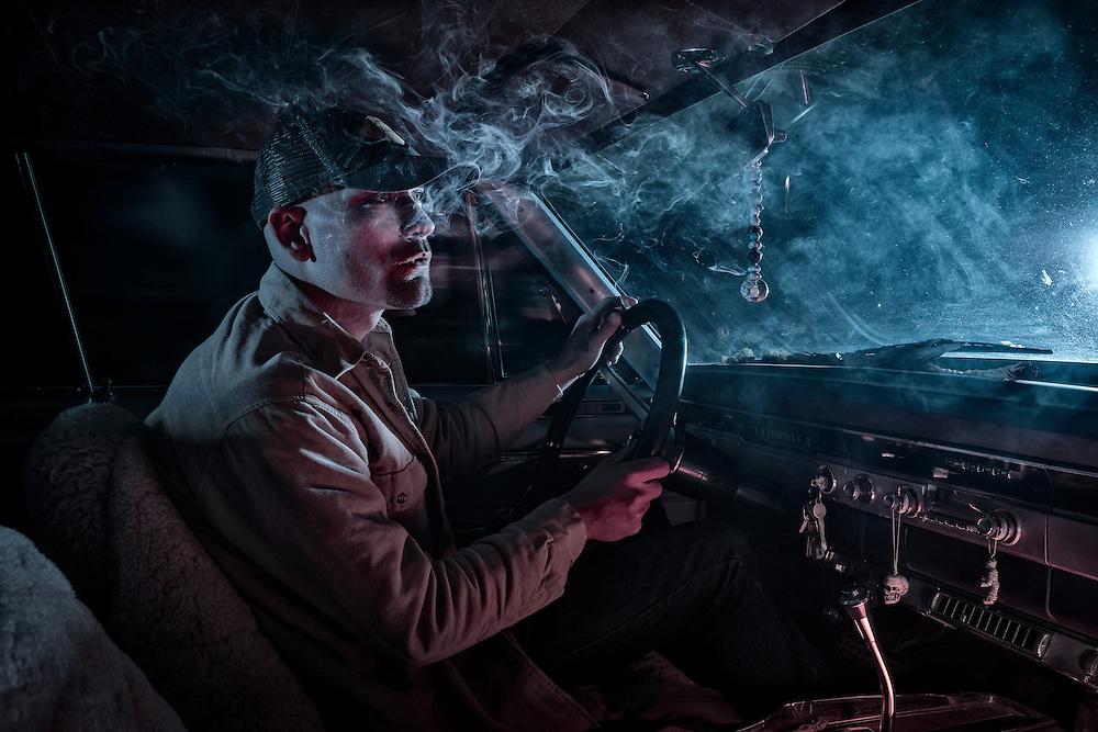 American Dreamscapes Stolen Car II