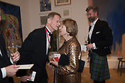 SIR NICHOLAS SEROTA, JOAN BAKEWELL, GARY WATERSTON, 2019 Royal Academy Annual dinner, Piccadilly, London.  3 June 2019