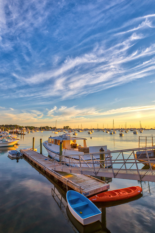 Picturesque New England photography of Scituate Harbor in Scituate Massachusetts. The sunrise golden hour light beautifully painted this harbor scenery in warm hues and colors.<br /> <br /> Picturesque New England photography image artwork of Scituate Harbor is available as museum quality photography prints, canvas prints, acrylic prints, wood prints or metal prints. Prints may be framed and matted to the individual liking and decorating needs: <br /> <br /> https://juergen-roth.pixels.com/featured/picturesque-scituate-harbor-juergen-roth.html<br /> <br /> Good light and happy photo making!<br /> <br /> My best,<br /> <br /> Juergen