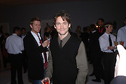Hugh Dancy. The Moet & Chandon Fashion Tribute 2005 to Matthew Williamson,  Old Billingsgate market, London. 16th February 2005. ONE TIME USE ONLY - DO NOT ARCHIVE  © Copyright Photograph by Dafydd Jones 66 Stockwell Park Rd. London SW9 0DA Tel 020 7733 0108 www.dafjones.com