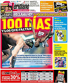 April 13, 2021 - LATIN AMERICA: Front-page: Today's Newspapers In Latin America