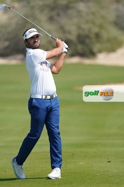 Antoine Rozner (FRA) during the second round of the Commercial Bank Qatar Masters 2020, Education City Golf Club , Doha, Qatar. 06/03/2020<br /> Picture: Golffile   Phil Inglis<br /> <br /> <br /> All photo usage must carry mandatory copyright credit (© Golffile   Phil Inglis)