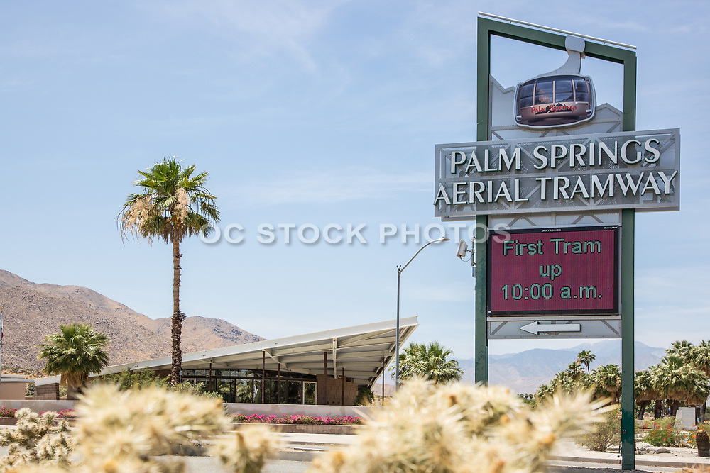 Palm Springs Visitor Center and Aerial Tramway Signage