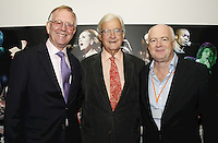 John Deacon CBE, Lord Baker of Dorking and Tony Wadsworth CBE (BPI Chairman). The BRIT School Industry Day, Croydon, London..Thursday, Sept.22, 2011 (John Marshall JME)