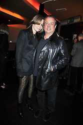 Hamish McAlpine and Carole Siller at a reception following the screening of the film '44 Inch Chest' part of the 2009 BFI London Film Festival, held at Maddox, 3-5 Mill Street, London on 17th October 2009.