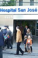112512 Royals Visit King Juan Carlos at Hospital