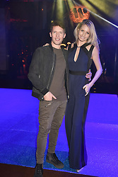 James Blunt and his wife Sofia at the Warner Music & Ciroc Brit Awards party, Freemasons Hall, 60 Great Queen Street, London England. 22 February 2017.