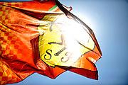 September 10-12, 2010: Italian Grand Prix. Ferrari flag