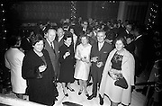 13/11/1967<br /> 11/13/1967<br /> 13 November 1967<br /> Leather Fashions at the Gresham Hotel, Dublin.<br /> Pictured at the event L-R: Mrs. Joseph Kloss; Mr. Joseph Kloss, Gorey Leather; Bean Phadraig Ui Nuallain (Dickens); Dr D. O'Neill (Dublin); Mr M. O'Sullivan and Dr. Elizabeth O'Loughhlin (Gorey).