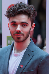 London, UK. 13th March, 2019. Nathan Sykes arrives at the London Palladium to attend the annual Prince's Trust Awards to be presented by HRH the Prince of Wales, President of the Prince's Trust. The Prince's Trust and TKMaxx & Homesense Awards recognise young people who have succeeded against the odds, improved their chances in life and had a positive impact on their local community.