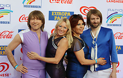 12.04.2019, Europa Park, Rust, GER, Radio Regenbogen Award 2019, im Bild Beste Show 2018, ABBAMANIA THE SHOW // during the Radio Rainbow Award at the Europa Park in Rust, Germany on 2019/04/12. EXPA Pictures © 2019, PhotoCredit: EXPA/ Eibner-Pressefoto/ Joachim Hahne<br /> <br /> *****ATTENTION - OUT of GER*****