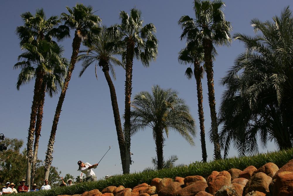 Suzann Pettersen.2007 Kraft-Nabisco Championship.Third Round.Mission Hills CC.Dinah Shore Course.Rancho Mirage, CA.Saturday, March 31 2007.03/31/07.Photograph by Darren Carroll