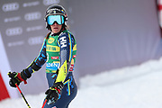SOELDEN, AUSTRIA. OCTOBER 17 2020:  1st Women's Giant Slalom as part of the Alpine Ski World Cup in Solden on October 17, 2020; Run 2, Sara Hector ( Pierre Teyssot/ESPA Images-Image of Sport)