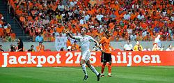 05-06-2010 VOETBAL: NEDERLAND - HONGARIJE: AMSTERDAM<br /> Nederland wint met 6-1 van Hongarije / Balazs Dzsudzsak scoort de 1-0<br /> ©2010-WWW.FOTOHOOGENDOORN.NL