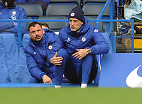 Football - 2020 / 2021 Premier League - Chelsea vs West Bromwich Albion - Stamford Bridge<br /> <br /> Chelsea Manager, Thomas Tuchel shows his frustration ,on his way to losing his first match since arriving<br /> <br /> Credit COLORSPORT/Andrew Cowie