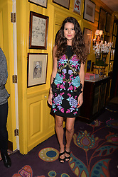 Sarah Ann Macklin at the  Annabel's Bright Young Things Party at Annabel's, Berkeley SquareLondon England. 8 June 2017.<br /> Photo by Dominic O'Neill/SilverHub 0203 174 1069 sales@silverhubmedia.com